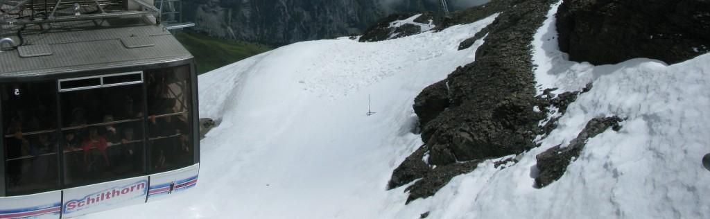 Ski travel corridors