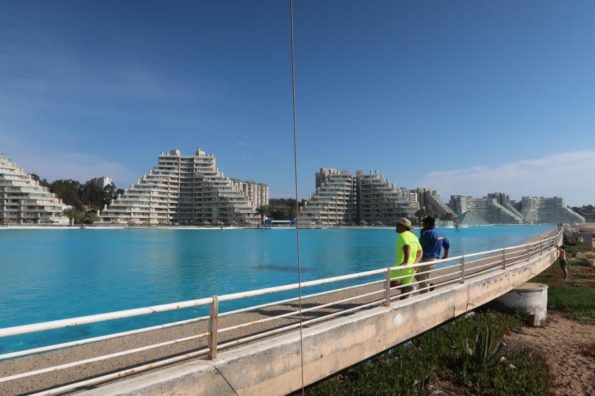 Worlds largest swimming pool, Algorrobbo