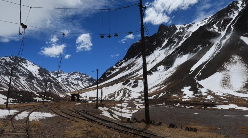 Abandoned Transandine Railway at 3,200m