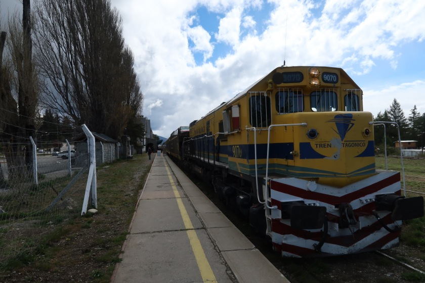Tren Patagonico from Bariloche to San Antonio Oeste