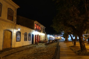 Paraty's cobbled streets