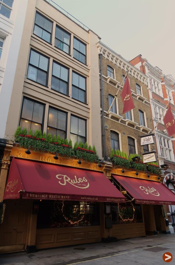 London's oldest restaurants - Rules