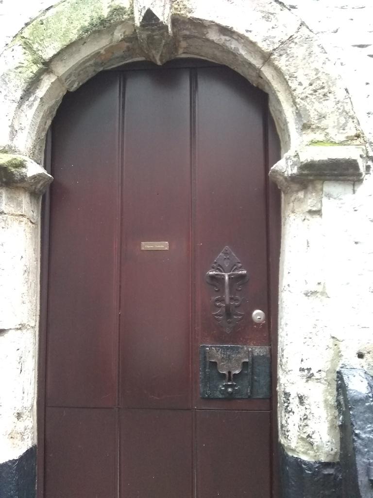 Medieval door, Antwerp