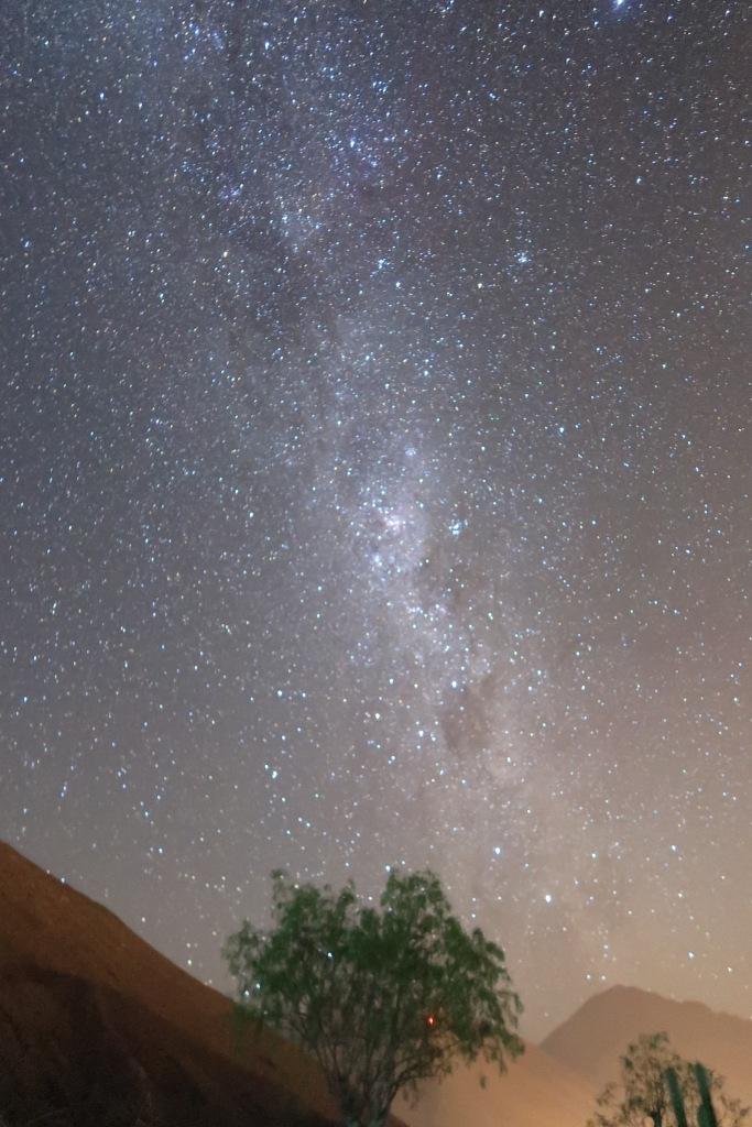 Milky Way from the Atacama desert