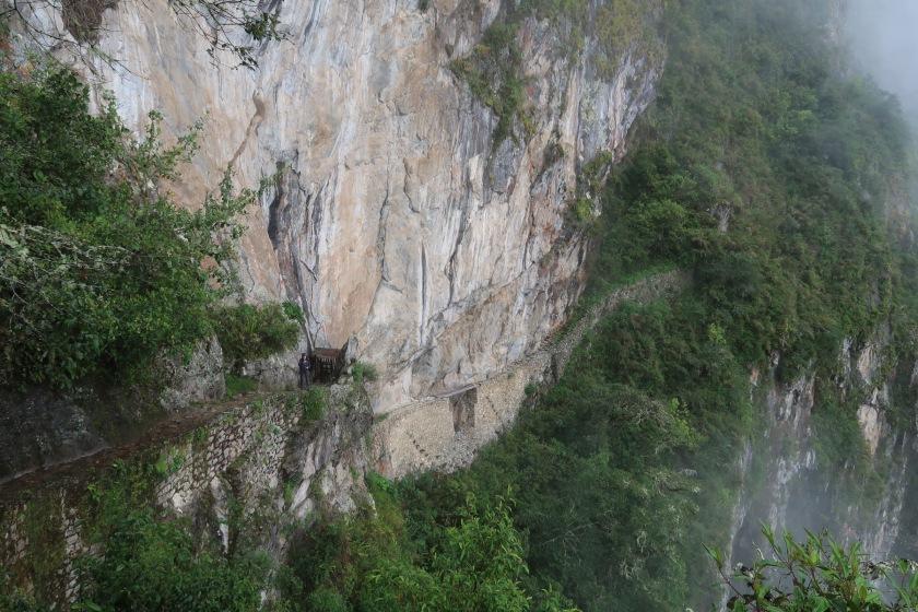 The Inca Bridge - an example of incredible Incan engineering