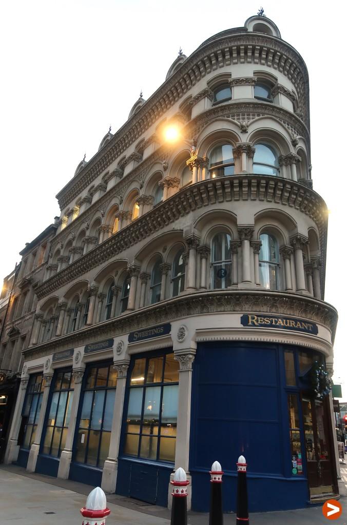 London's oldest restaurants - Sweetings
